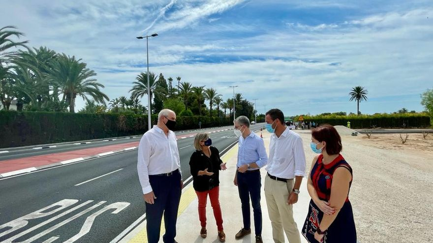 El Consell fija en 2023 la última fase para desdoblar la carretera Elche-Santa Pola