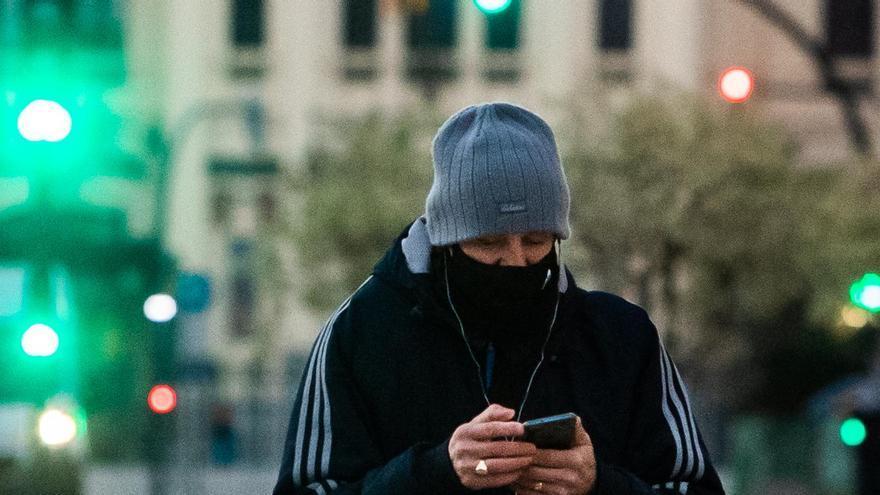 València llega a los 0.8ºC, la temperatura más baja desde febrero de 2012