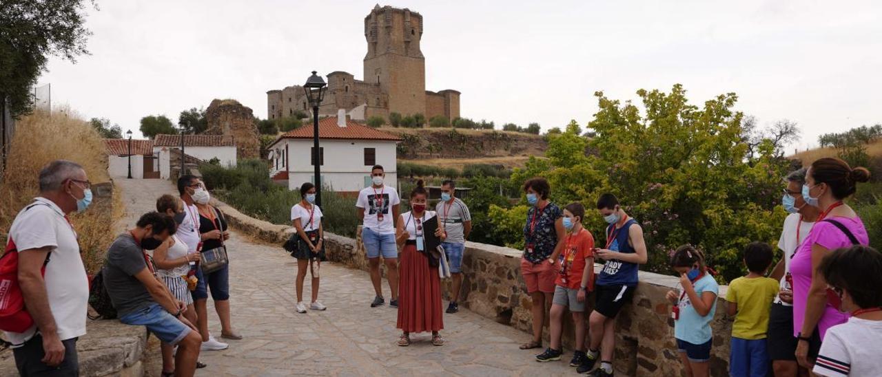 De visita al castillo de Belalcázar