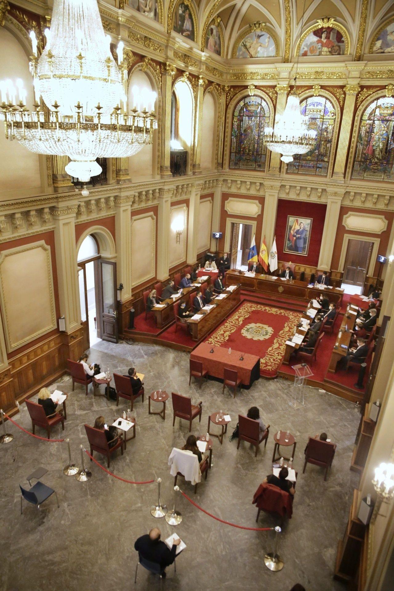 Pleno de Santa Cruz de Tenerife 29/01/2021