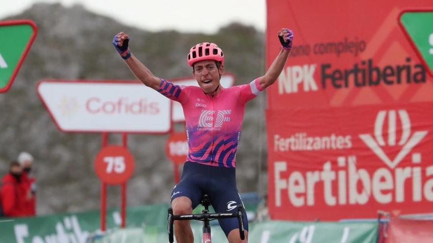 Ganador de la etapa 12 de la Vuelta: Hugh Carthy