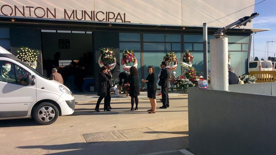 Torre Pacheco despide unido en el dolor a los cinco jóvenes fallecidos