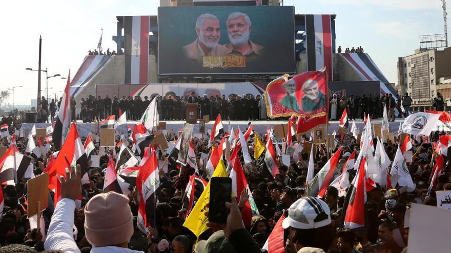 Irán e Irak conmemoran el aniversario de la muerte de Soleimani