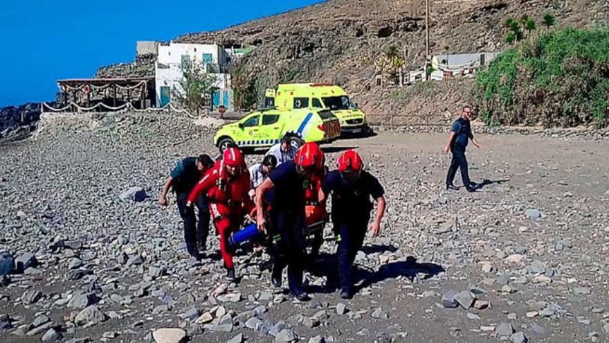 Los dos ahogados en Fuerteventura son hermanos