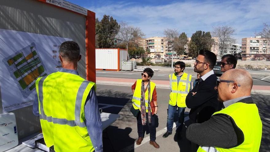 """La futura Plaza de la Ciudad de la Justicia, un """"pulmón verde"""" para el barrio"""