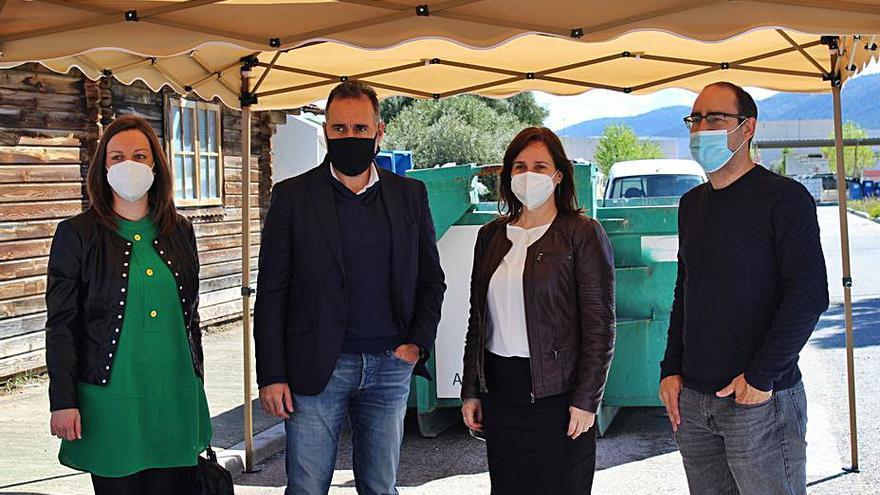 Ibi cede al consorcio de residuos Terra la gestión del ecoparque