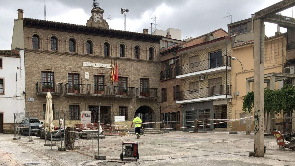 Los municipios recurren a las ayudas del PLUS para la renovación de calles y plazas.