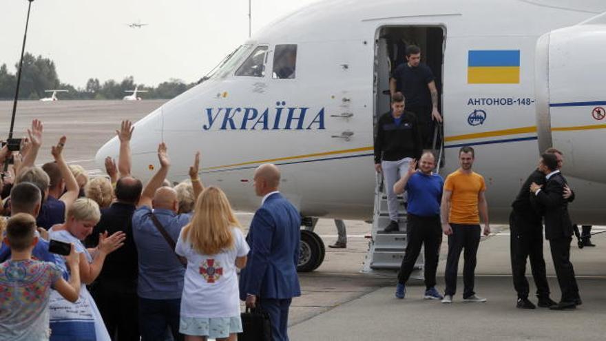 Decisivo intercambio de presos entre Rusia y Ucrania