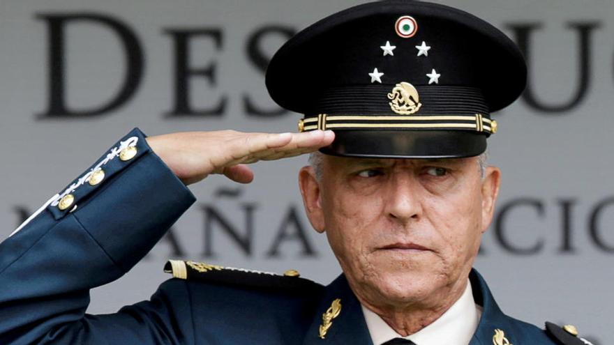 EEUU pacta con México retirar los cargos de narcotráfico contra el general Cienfuegos