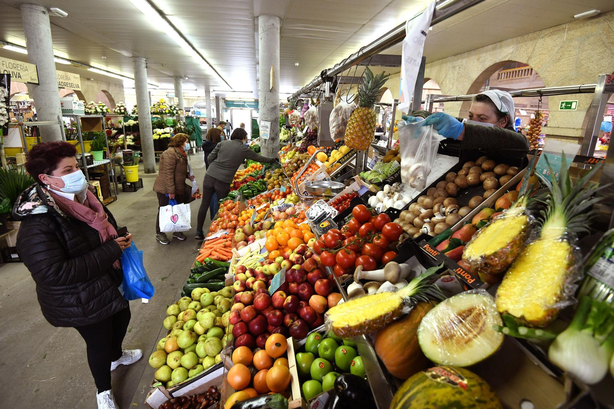 El Mercado sufre el cierre de la hostelería