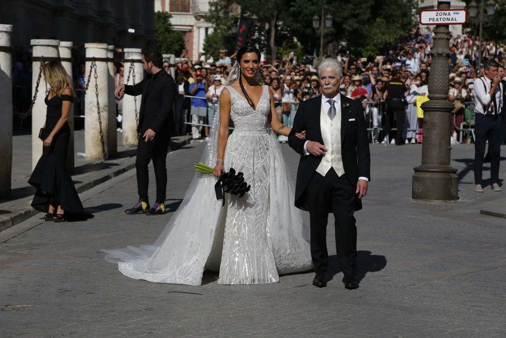 Pilar Rubio, una novia fiel a estilo