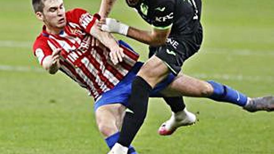 El Leganés-Sporting, el domingo 2 de mayo a las 18.15 horas