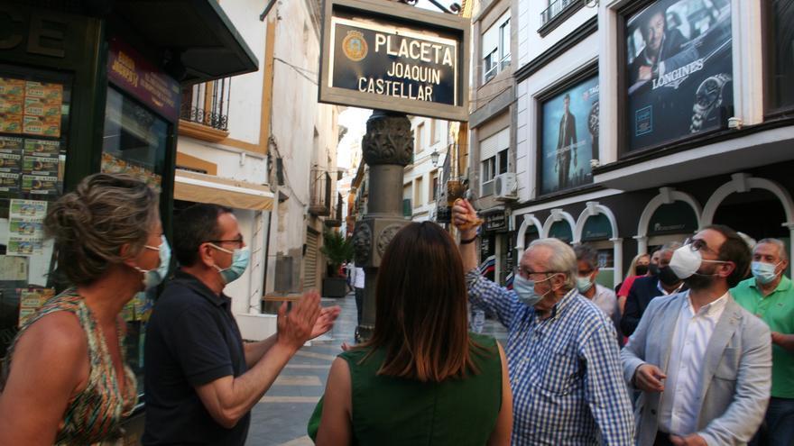 Joaquín Castellar ya tiene una placeta en Lorca