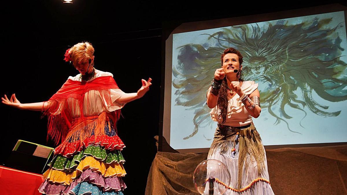 El espectáculo de ayer en la programación del festival.   Nico Rodríguez