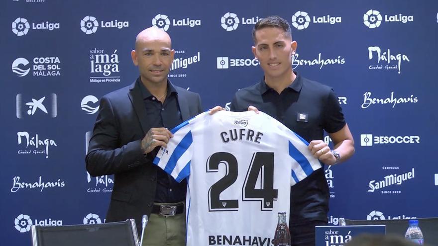 Cufré se decidió por el Málaga tras hablar con Chavarría