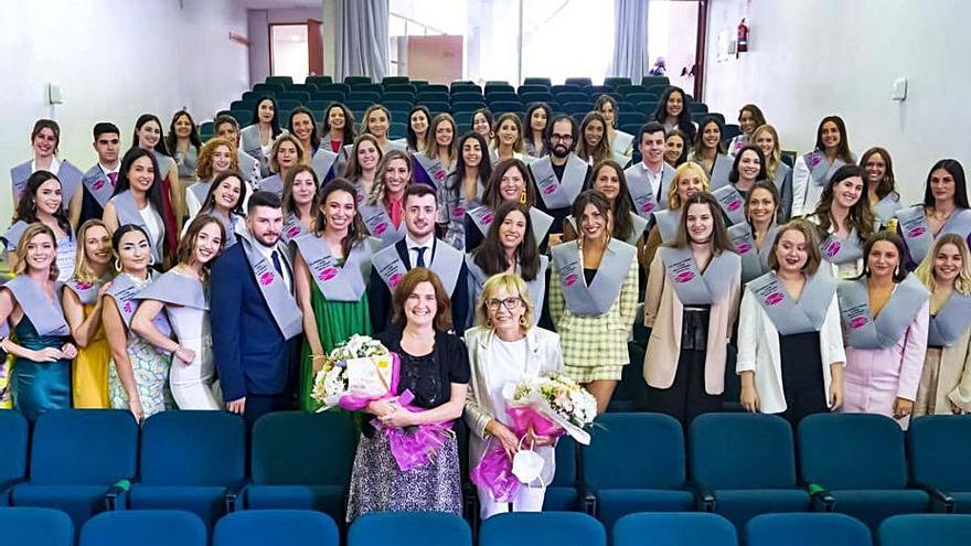 Nueva promoción de enfermeros del campus coruñés