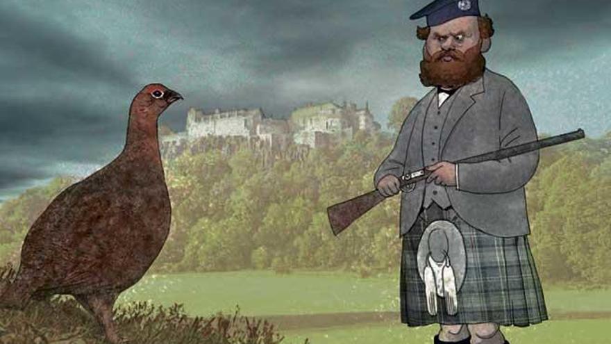 Escocia, perdices y whiksy