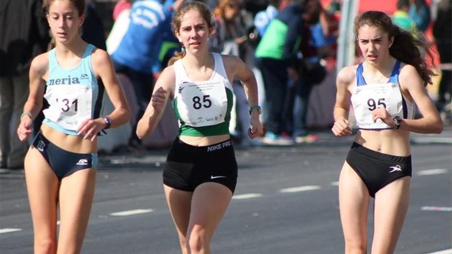 María Teresa Morata sube al podio en el Nacional de marcha