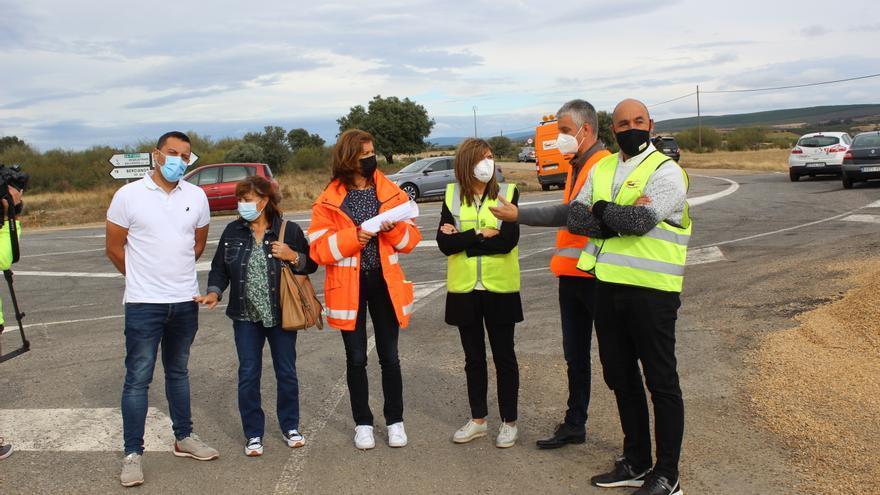 Concluye la mejora de la carretera de Fonfría a Tábara