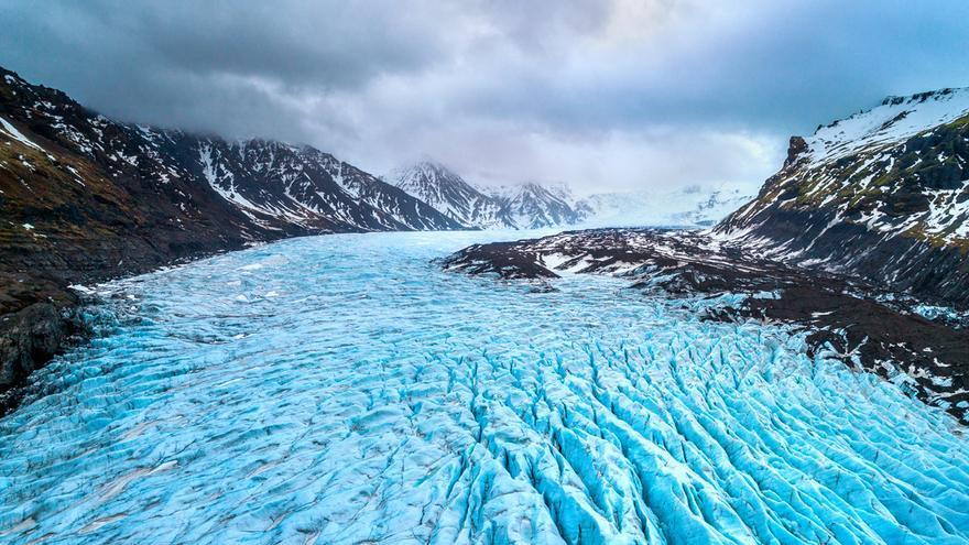 La pérdida de glaciares aumenta la descomposición de moléculas complejas de carbono en ríos
