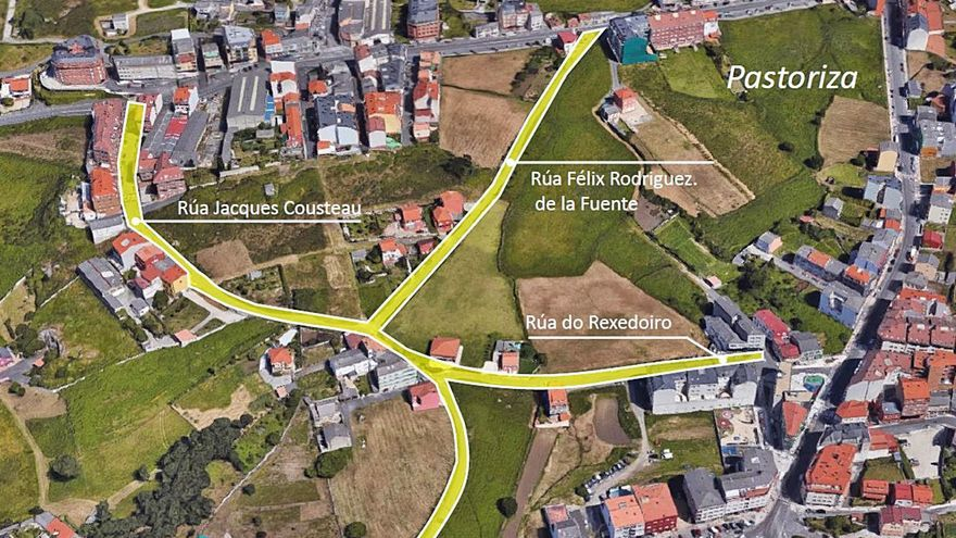 Barrionovo y A Choupana, en Pastoriza, estarán conectados por dos nuevas sendas