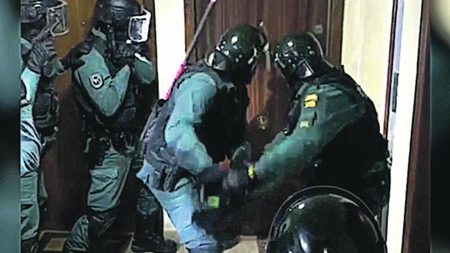 Desmantelan un grupo que introducía cocaína desde Paraguay para todo el país