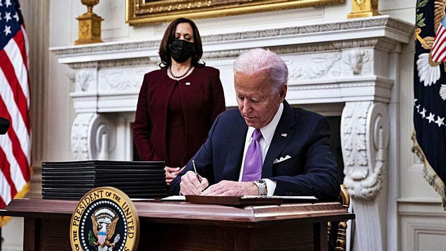 Incògnites de l'era Biden