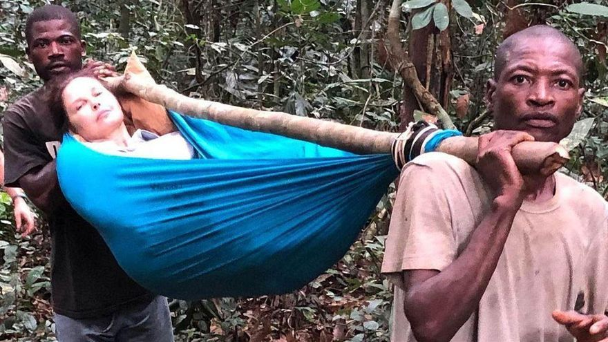 Ashley Judd, una odisea de 55 horas en la selva congoleña