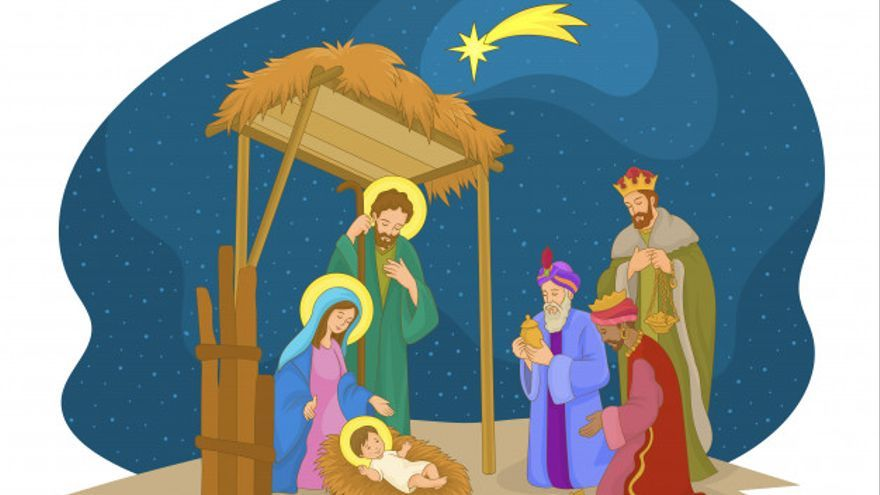 Nace Jesús en un Pesebre