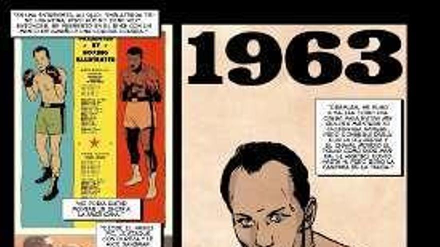 Muhammad Ali, viñetas con gancho