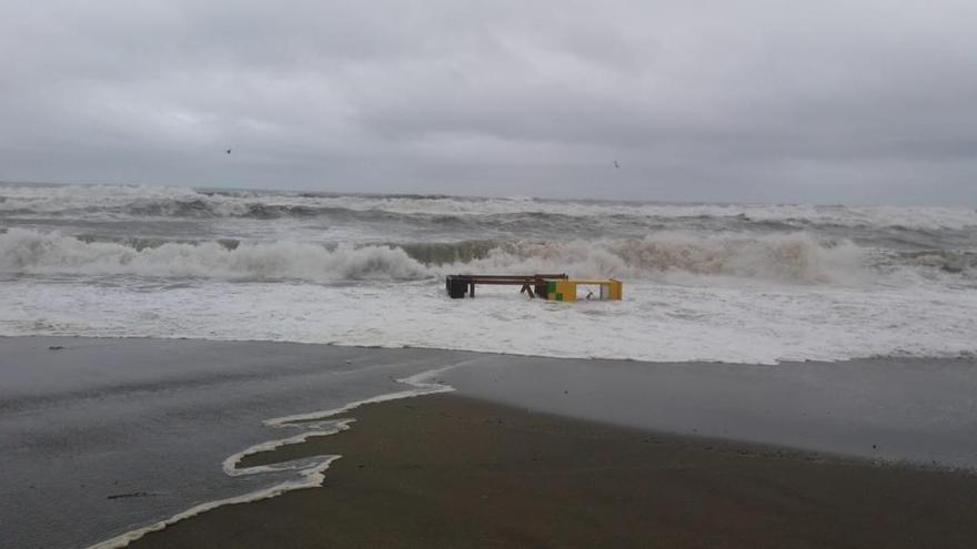 El Consorcio de Seguros estima en 4 millones los daños de Filomena en Málaga
