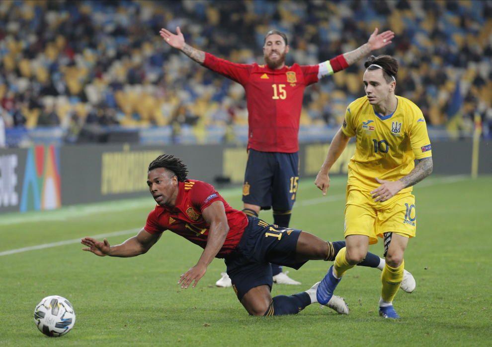 UEFA Nations League: Ucrania - España