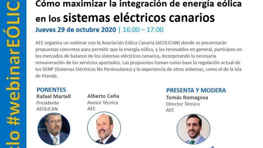 Reflexiones sobre cómo maximizar la integración eólica en los sistemas eléctricos canarios