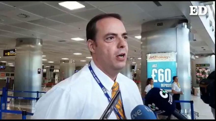 Pilotos de Ryanair acusan a la compañía de sabotear la huelga
