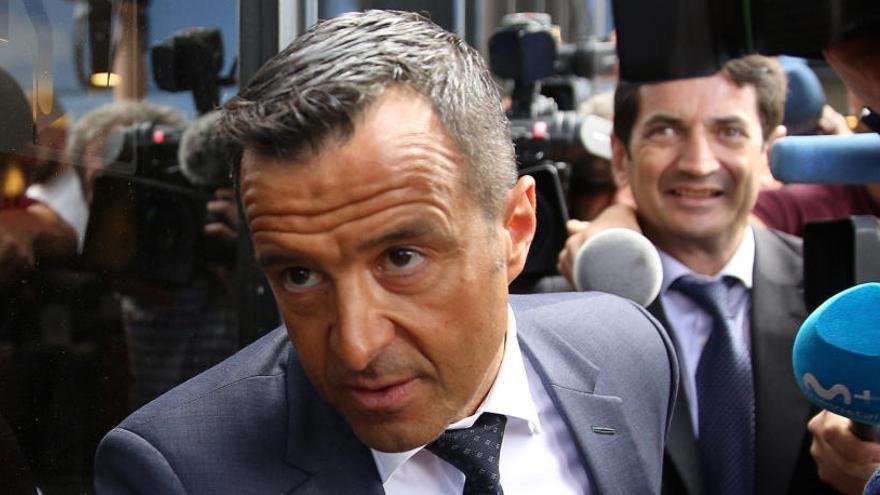 Mendes niega que asesorase fiscalmente a sus jugadores