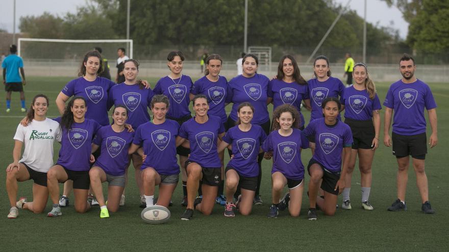 El Club de Rugby Málaga estrena sección femenina
