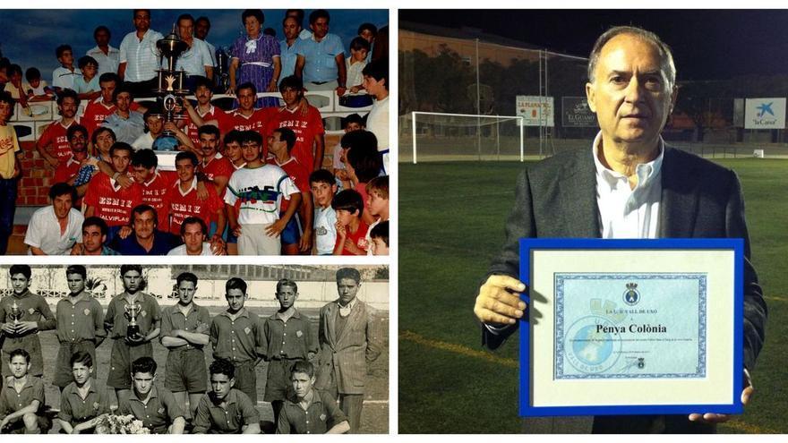Amor a unos colores en la Vall: 50 años presidiendo un equipo de fútbol