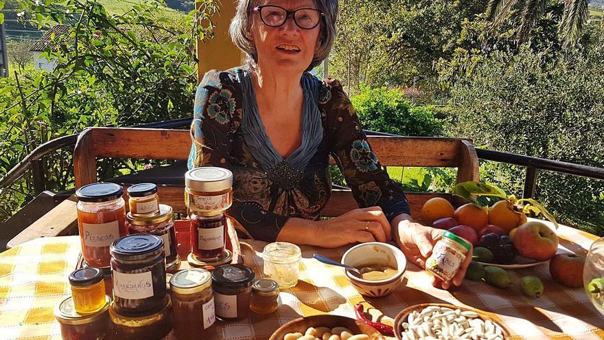 """Una repostera asturiana crea la mermelada de fabes: """"Es una textura muy suave"""""""