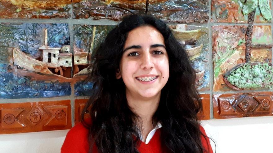 Natalia González, del Corazón de María, premio nacional por un trabajo sobre la Constitución