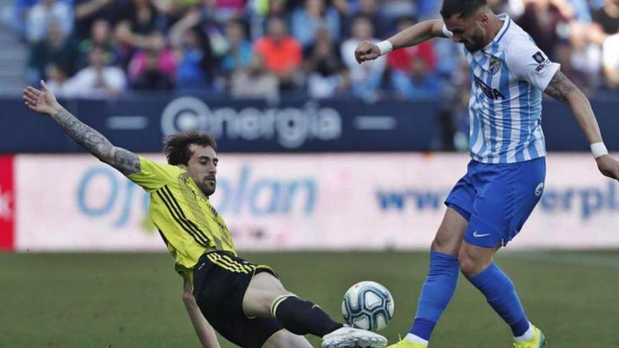 Málaga CF - Zaragoza, el último partido que La Rosaleda vibró con su equipo