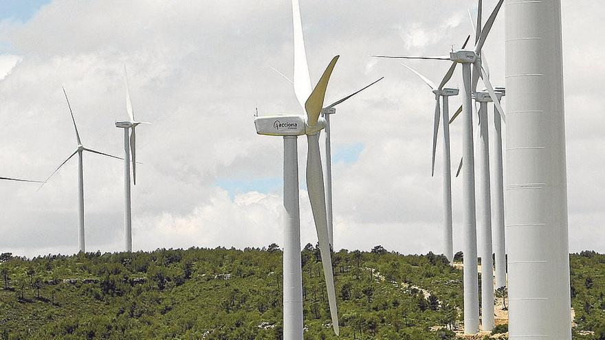 El temporal de viento lleva los precios de  la electricidad a mínimos históricos
