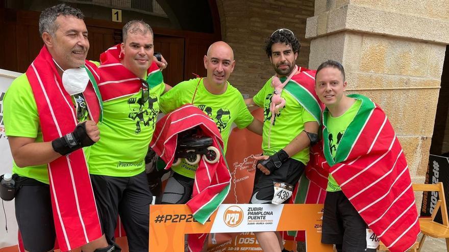 Cinco zamoranos participan en la Maratón más dura sobre patines