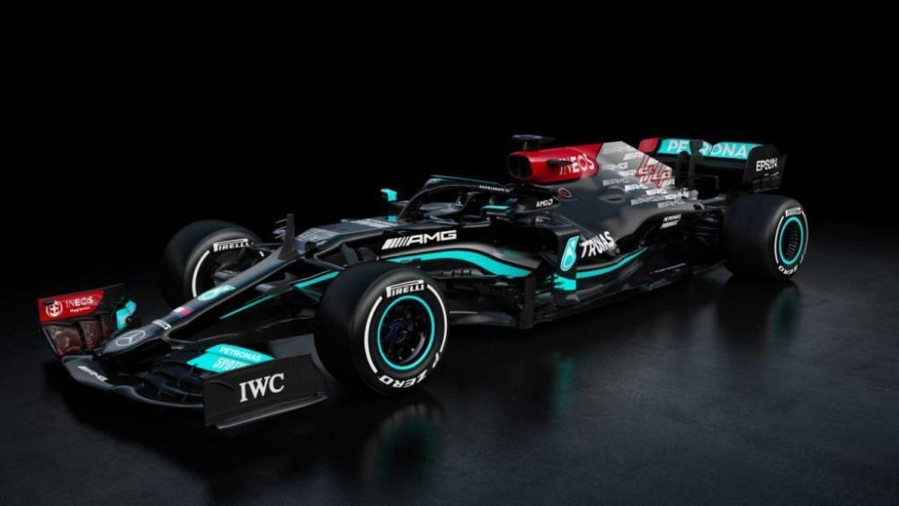 Mercedes W12 (Lewis Hamilton y Valteri Bottas)