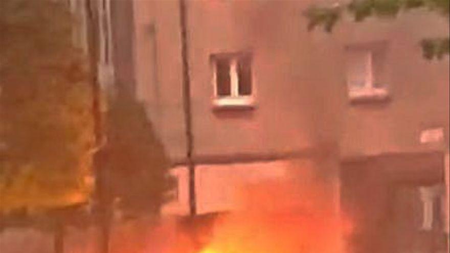 Enésimo contenedor que se incendia en el barrio de El Polígono