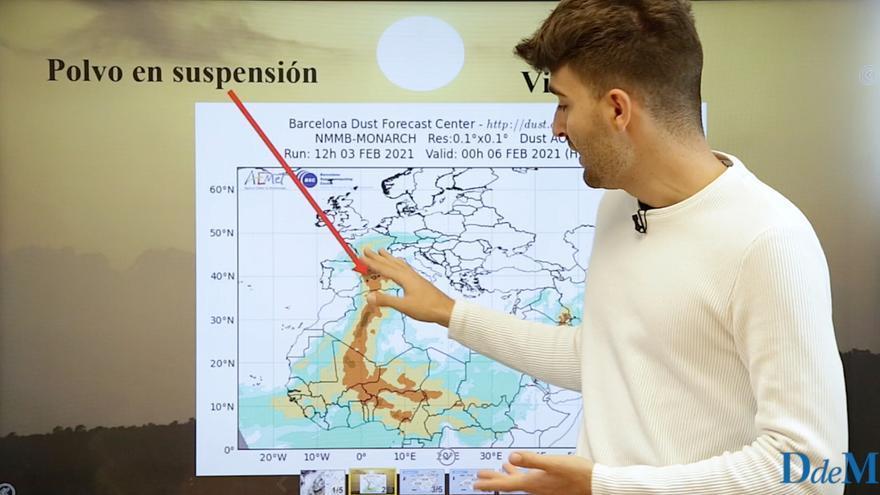 El tiempo del fin de semana en Mallorca:  tiempo variable y polvo en suspensión