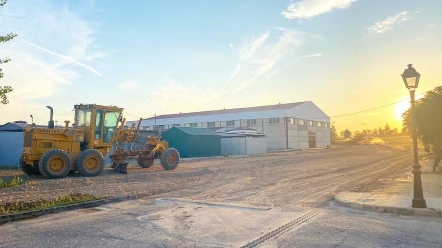 Coria inicia las obras de asfaltado y pavimentación en las dos pedanías