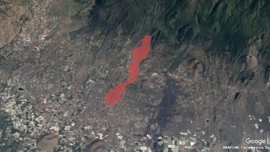 Erupción volcánica en La Palma | Así avanza la lava