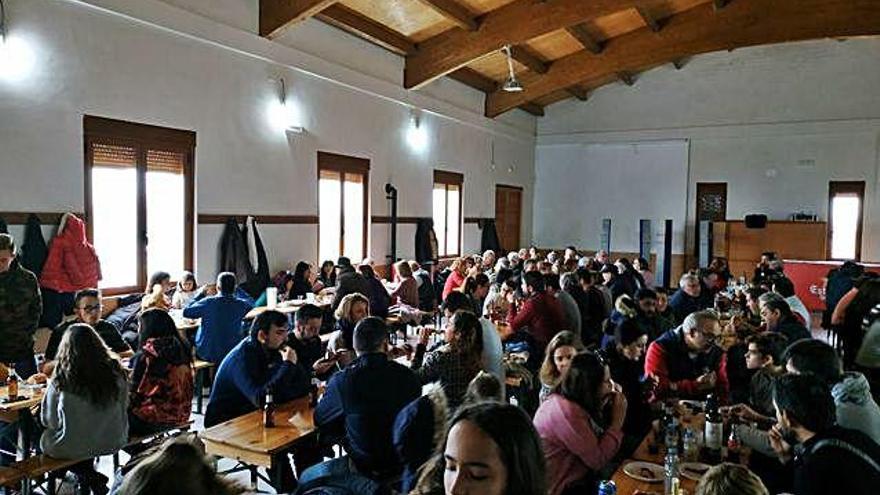 Fiesta del sumarro en Granja de Moreruela