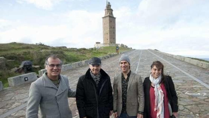 Carlos Núñez y Stivell visitan la Torre