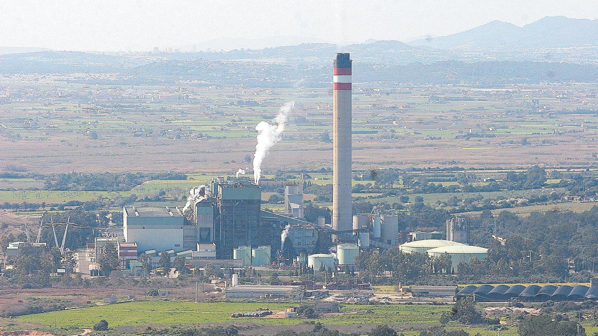 La central de Es Murterar.